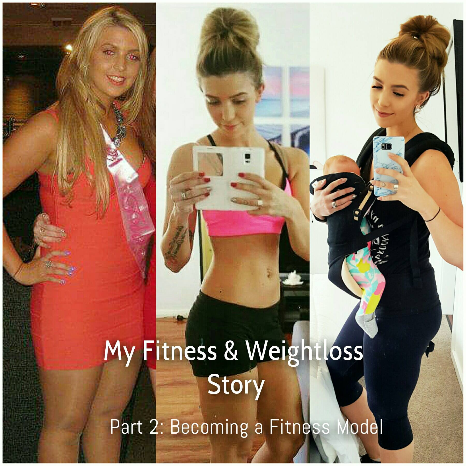 My Fitness & Weightloss Journey: Part 2 Becoming a Fitness Model