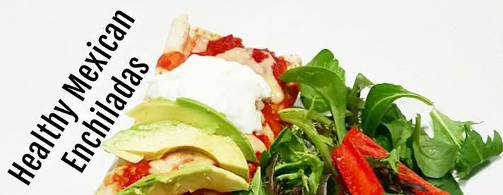 Healthy Mexican Enchiladas