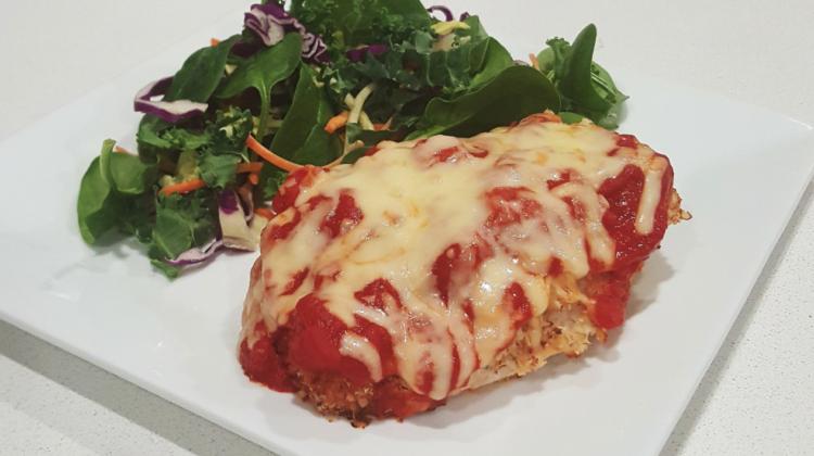 Healthy Chicken Parmigiana