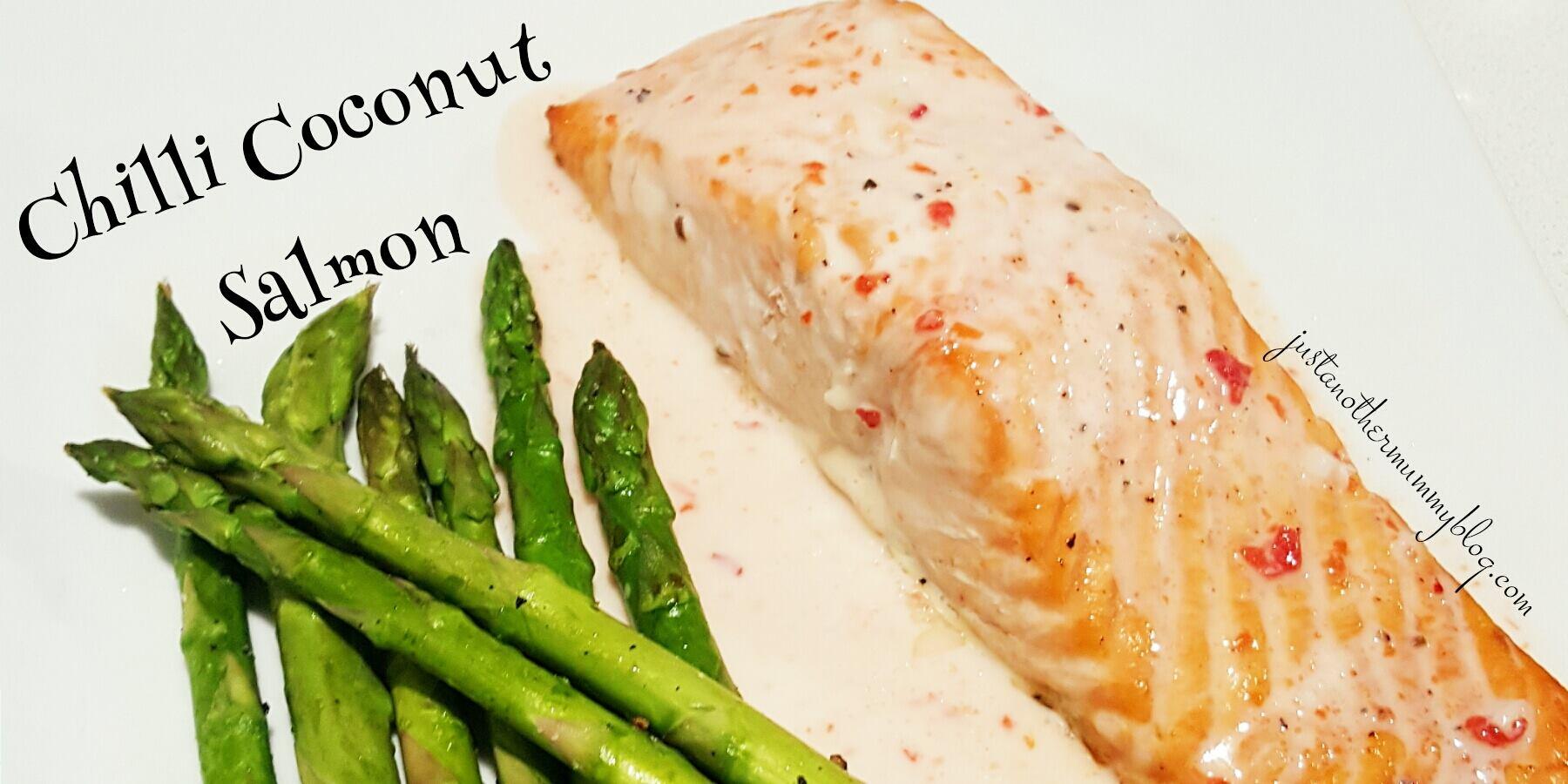 Chilli Coconut Salmon