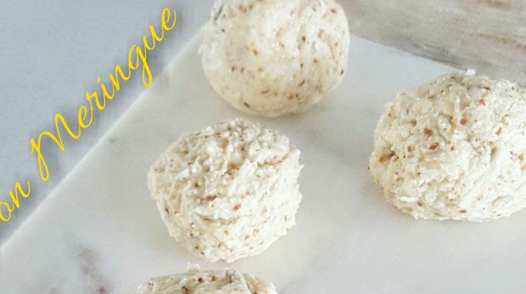 Lemon Meringue Protein Balls