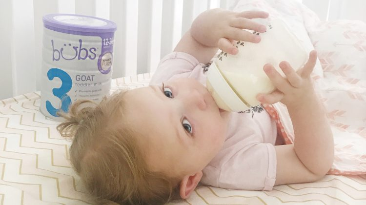 Harper's Switch to Bubs Goats Milk