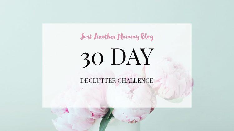 30 Day Declutter Challenge- Start 2018 Organised!
