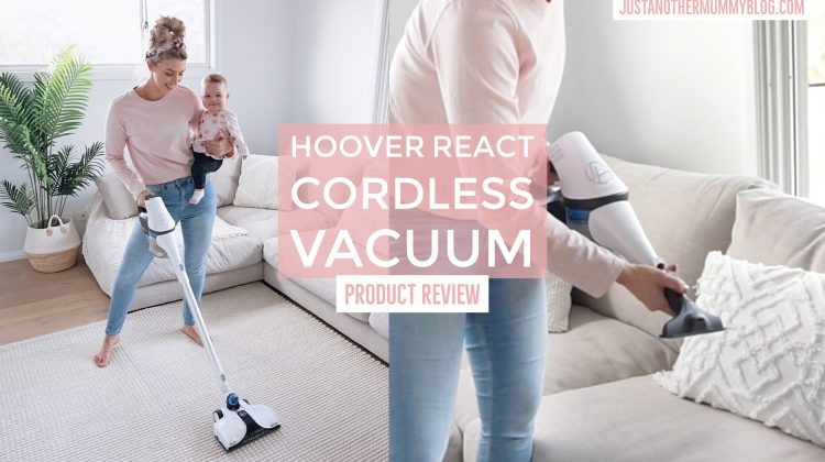 Product Review: Hoover React Cordless Vacuum