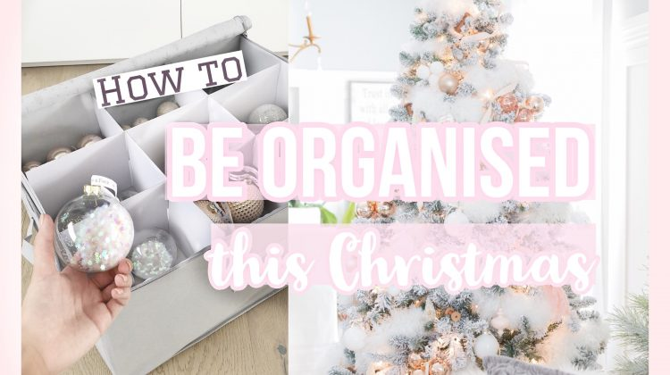 How To Be Organised This Christmas!
