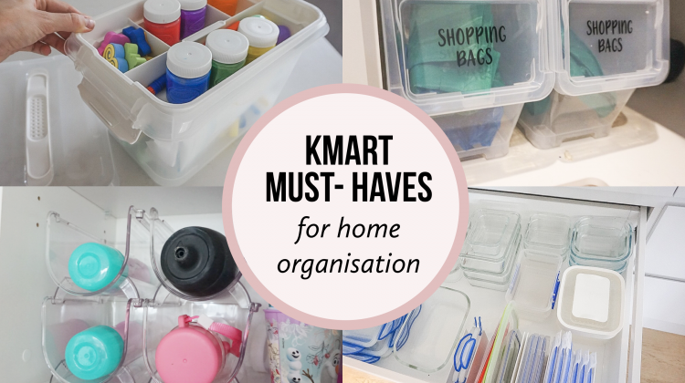 KMART Must Haves for an Organised Home
