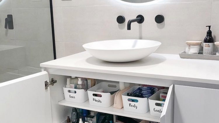 Ensuite Organisation- How to Organise your Bathroom!