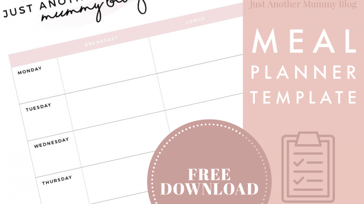 Free Weekly Meal Planner Download!