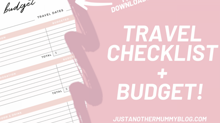 Travel Checklist and Budget Template