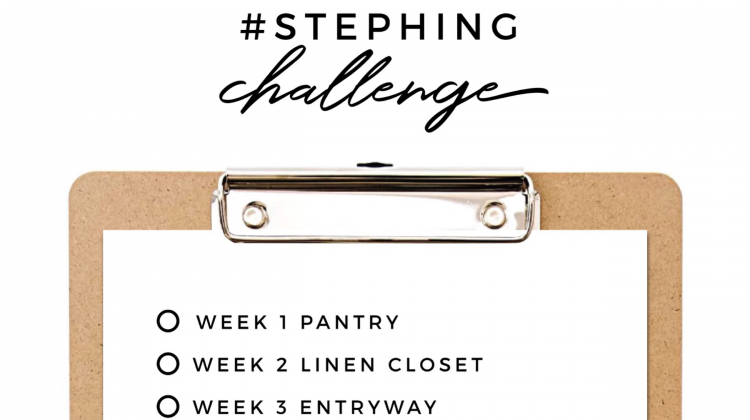The Ultimate Organisation 12 Week Challenge: #STEPHINGCHALLENGE