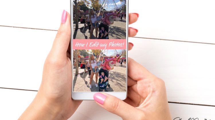 How I Edit Photos (All On My Phone!)